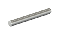 "3/16"" x 2-1/2"", Round, Ground, High Polished, Chamfer One End, Grade 9008"